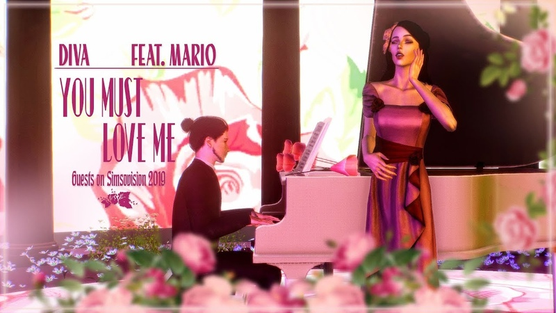 Diva Devon feat. Mario - You Must Love Me (Simsovision 2019 Guest)