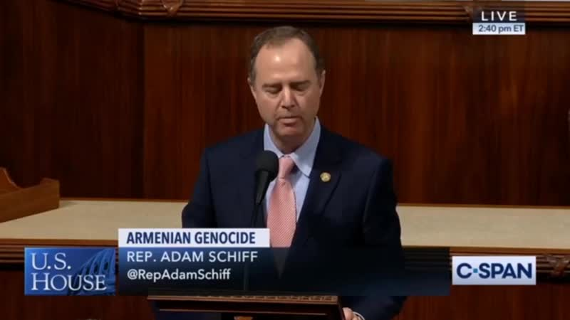 Congressman Adam Schiff on Recognizing the Armenian Genocide