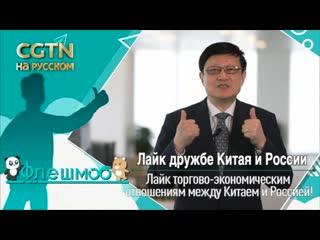 Лайк дружбе Китая и России: Лянь Пин