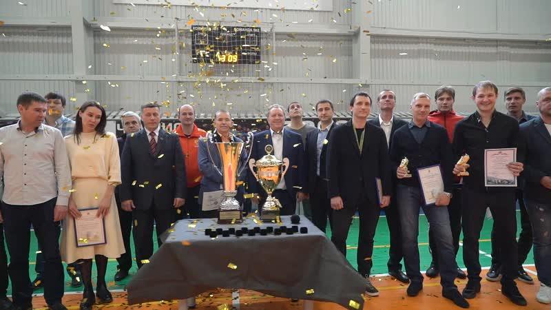 Торжественное награждение ФК Торпедо Миасс бронзовыми медалями