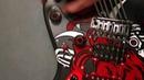 Cyberpunk 2077 процесс изготовления копии гитары Джонни Сильверхенда