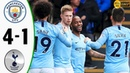Manchester City vs Tottenham 4 1 Highlights Goals Resumen Goles 2019 Last Match