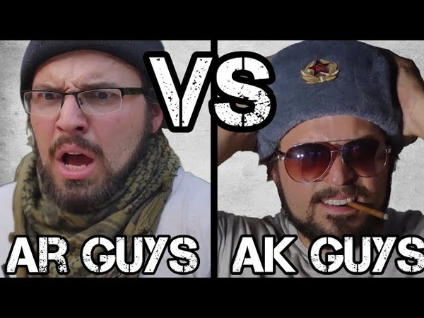 AR Guys vs AK Guys 3 - Purists, Fudds, Coffee