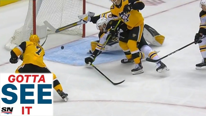 GOTTA SEE IT Dan Vladar Makes Jaw Dropping Paddle Save With Wide Open Net