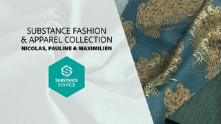 Procedural material creation for fashion design with Substance