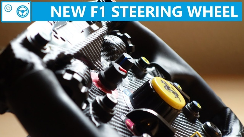 New F1 Steering Wheel Mod - The OSW Project IV