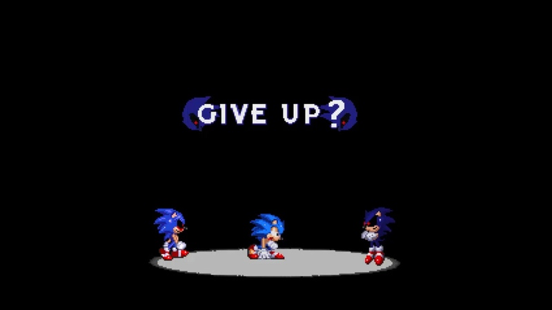 Sonic.exe Darkest Beyond. - Give Up and Game Over Preview.