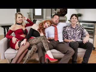 Порно пародия,Счастливы вместе,Lauren Phillips,Zoey Monroe,косплей,порно,секс,porno,sex,минет,ролевое,сюжет,инцест,milf,incest