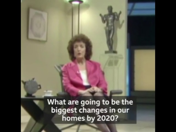 In 1989 talking about the year 2020 very interesting