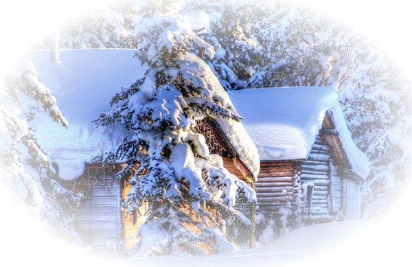 Как хорошо на зимней даче! Тропинку снегом замело Скрипит калитка, тихо плача - В сугроб засела тяжело. В саду деревья загляденье С пушистой шапкой на ветвях. Идем как в сказку с упоеньем. Ах!