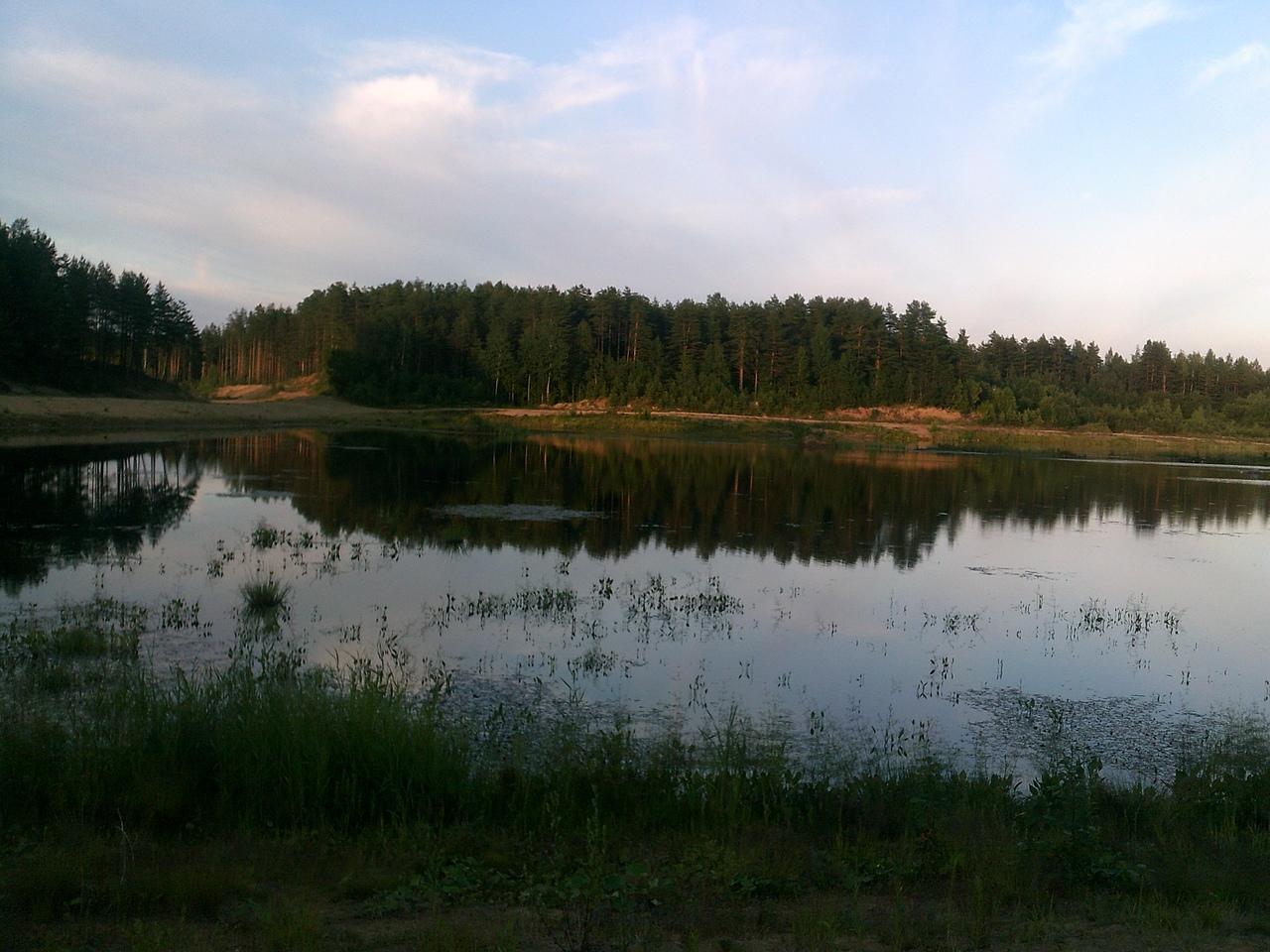 42 километра пешком за один день. Озера, леса и заброшенные объекты за поселком Токсово.