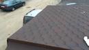 Монтаж битумной черепицы Строим гараж Installation of shingles Building a garage