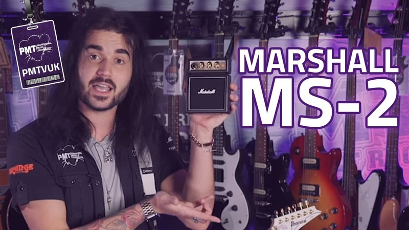 Marshall MS 2 Micro Amp Review Marshall Stack Tone In Your Hand