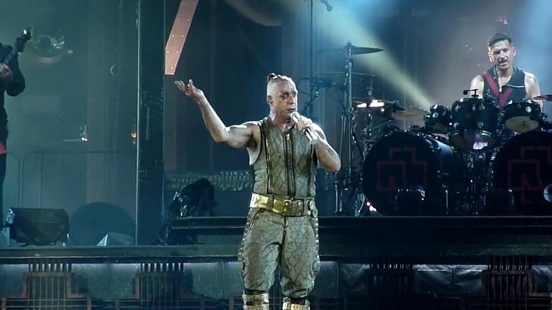Rammstein - Zeig Dich [HD] live @ Ernst-Happel-Stadion, Wien