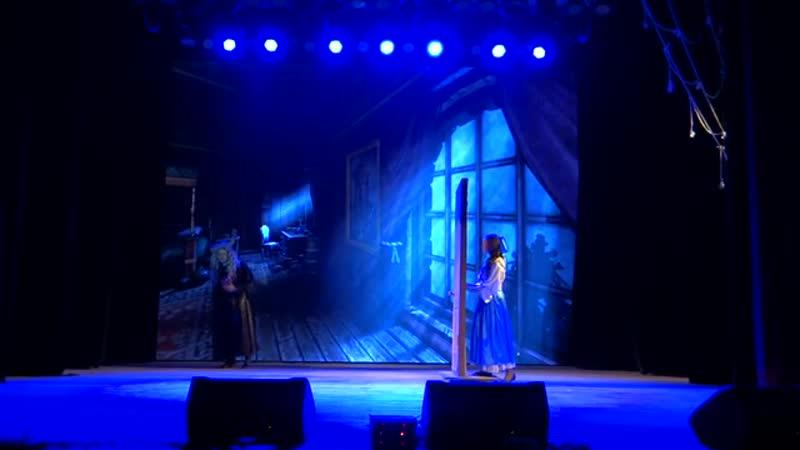 Образцовый коллектив Молодежный музыкальный театр Лик Отрывок из мюзикла Красавица и Чудовище