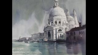 choessi art studio /landscape watercolor painting- Venezia 水彩畵 /최병화 수채화(물의도시 베네치아)