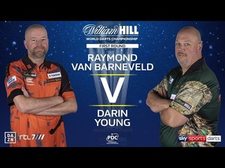 2020 World Darts Championship Round 1  van Barneveld vs Young