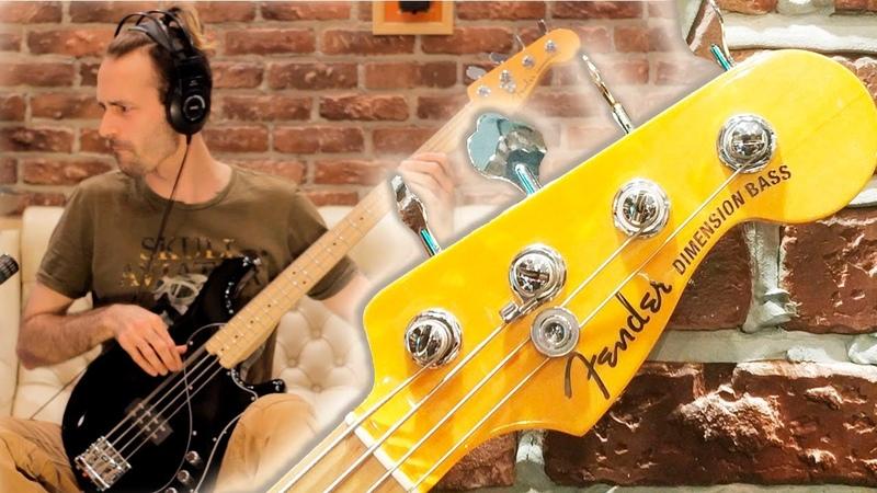 Бас-гитара Fender Dimension Bass обзор