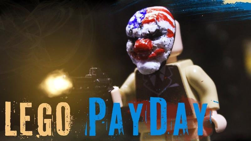 LEGO PAYDAY 2 Big Bank robbery