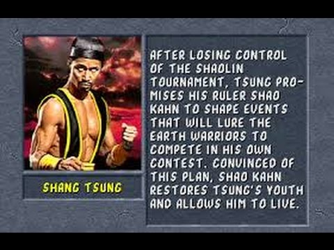 Mortal Kombat II Arcade Shang Tsung Gameplay on Very Hard no Continues