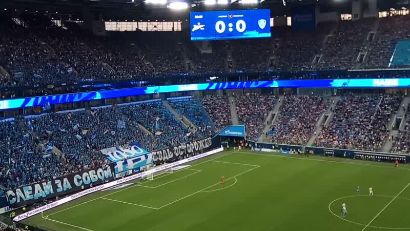 Зенит Ахмат Газпром Арена Санкт Петербург 17 08 2019 1