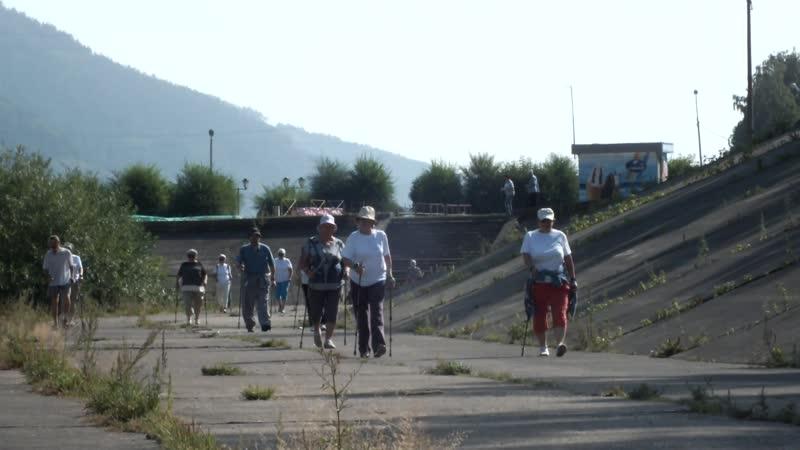 Прогулка до берега Енисея