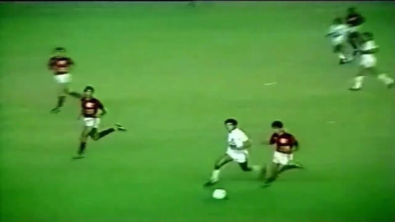 Bebeto vs Santos Campeonato Brasileiro 1984
