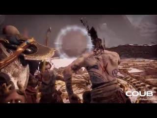 God of war kratos and atreus last fight with baldur