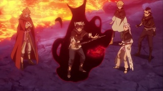 Asta, Noelle & Leopold vs Giant Spider - Magic Knights Training in Volcanic Underground Cave