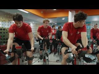 """Тренировка для ХК """"Белые Медведи"""". Фитнес центр в Челябинске. Citrus Fitness"""