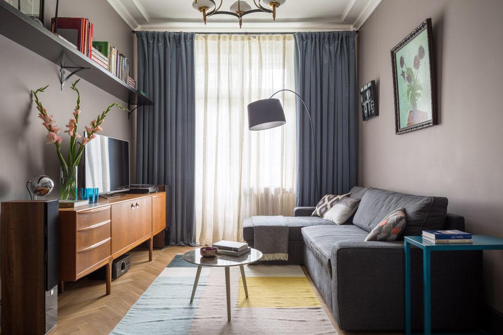 Квартира в доме 1948 года, 55 м² от Елены Зуфаровой || 01