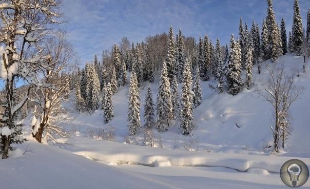 Поднебесные Зубья. Зимние пейзажи.