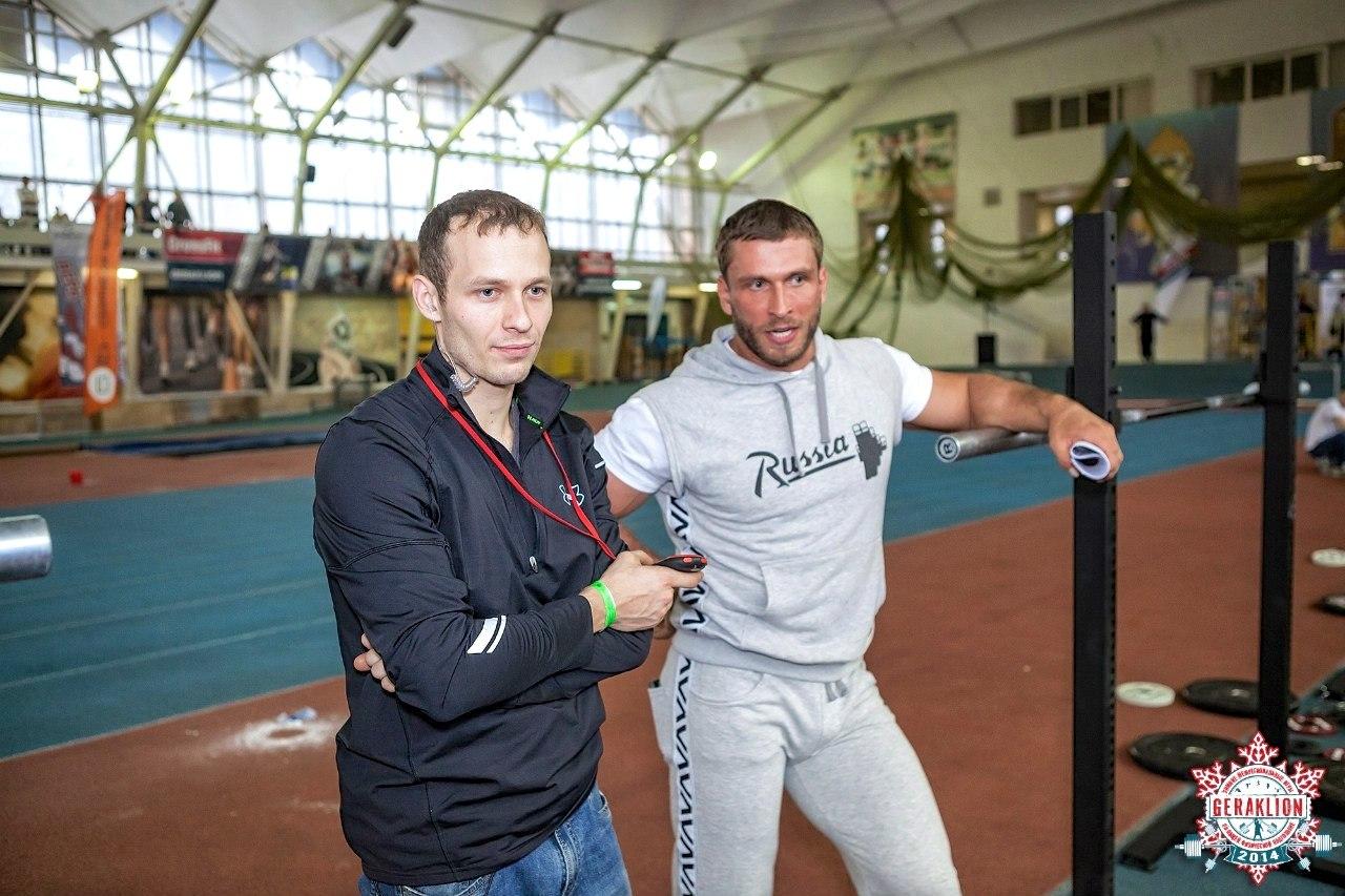 Евгений Богачев и Дмитрий Клоков