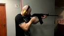 Стрельба из Вепрь 12 Shooting with Vepr-12