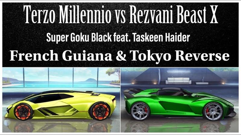 Lamborghini Terzo Millennio vs Rezvani Beast X - Asphalt 8