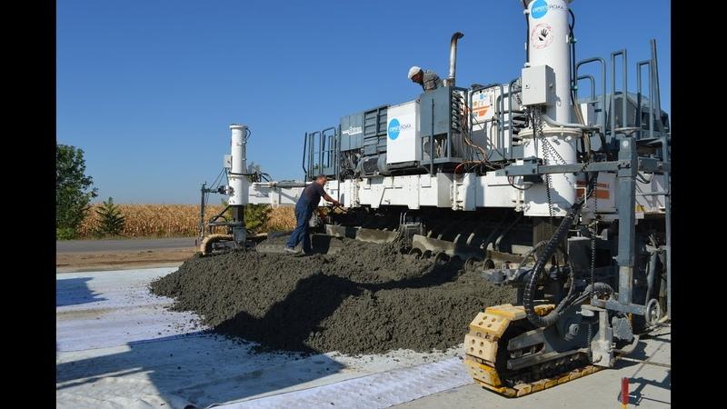 Будівництво бетонної дороги в Кобеляцькому районі Полтавської області