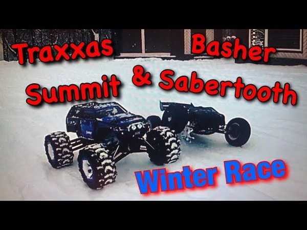 Traxxas Summit Basher race