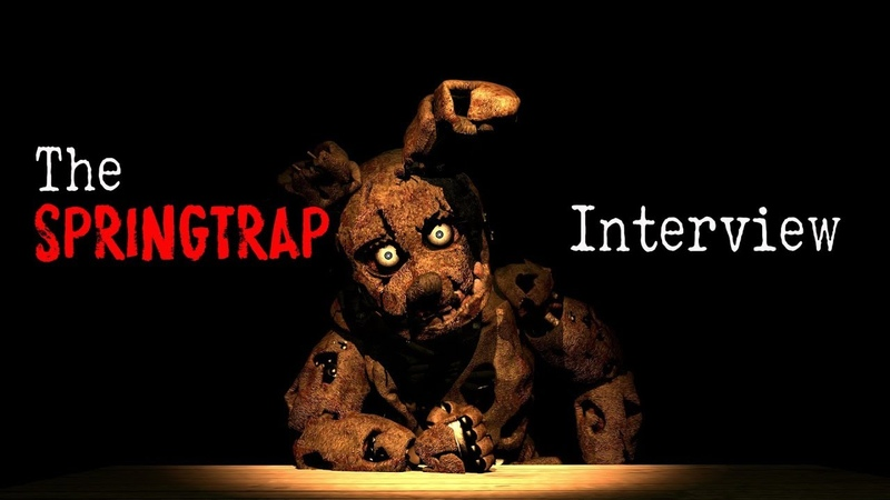 SFM An interview with Springtrap