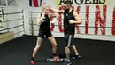 BEC RAWLINGS COACH SHOW OFF BARE KNUCKLE BOXING TECHNIQUES IN THE RING!