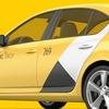 Магнитные наклейки Яндекс.Такси и UBER