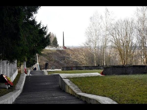 В Зубцове инициативная молодежь обустраивает территорию вокруг воинского мемориала