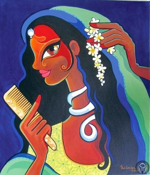 Нилоуфер Вадиа (Niloufer Wadia) - индийская художница (1967). часть 1Более 20 лет она работала в рекламе, но все-таки оставила это занятие для того, чтобы посвятить себя своей первой любви -