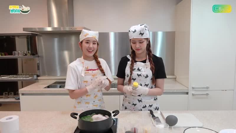 190810 닭백숙을 뽀여줘 백종원 선생님 레시피 따라하기 (Show me the Whole chicken soup follow Paik Chefs Recipe)