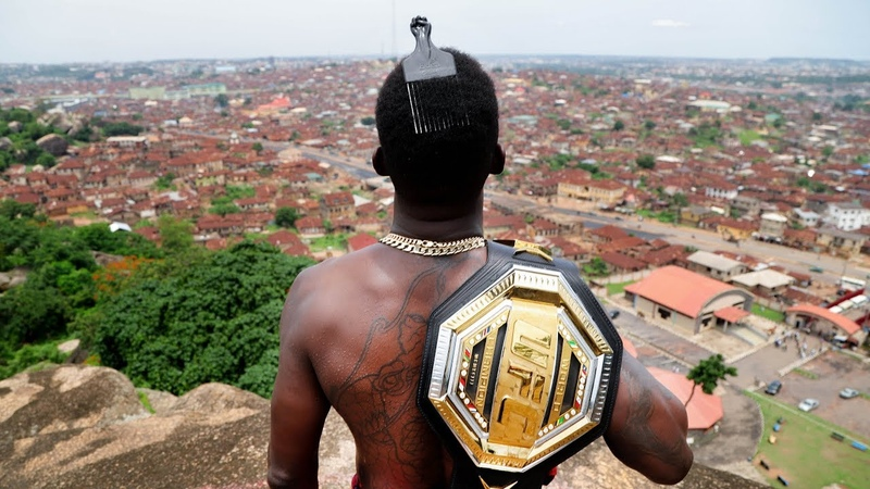 Taking Gold Back to Nigeria I Israel The Last Stylebender Adesanya