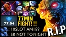 7 22h NEW META Carry Hero 10 Slot Item Carry Night Stalker vs Top Anti Mage Dota 2