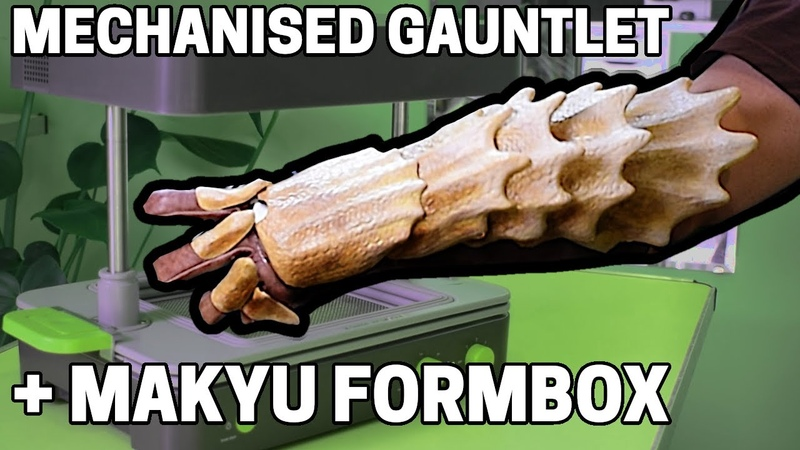 Mechanised Gauntlet Using the Mayku Formbox