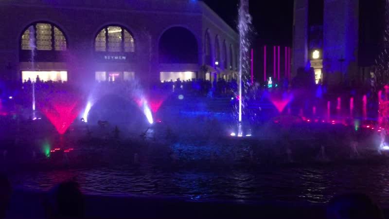 представление в LEGENDAS шоу фонтанов