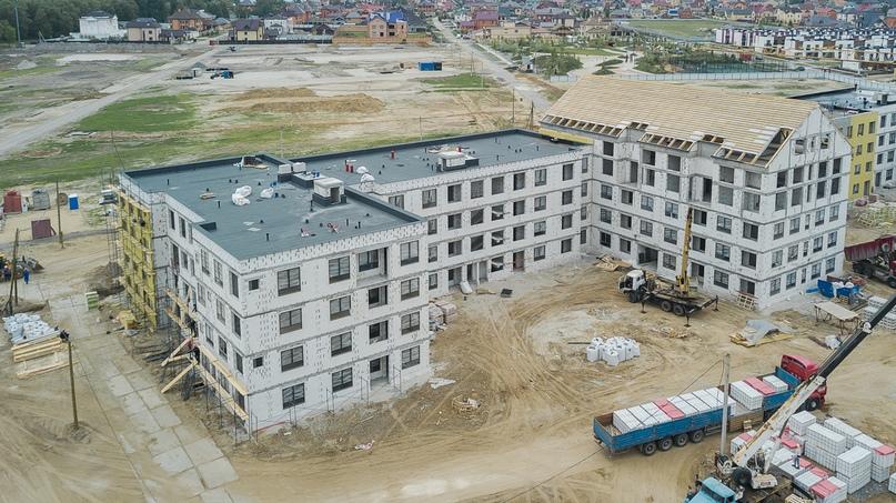 Отчет о ходе строительства квартал «Среда» май 2020, изображение №11