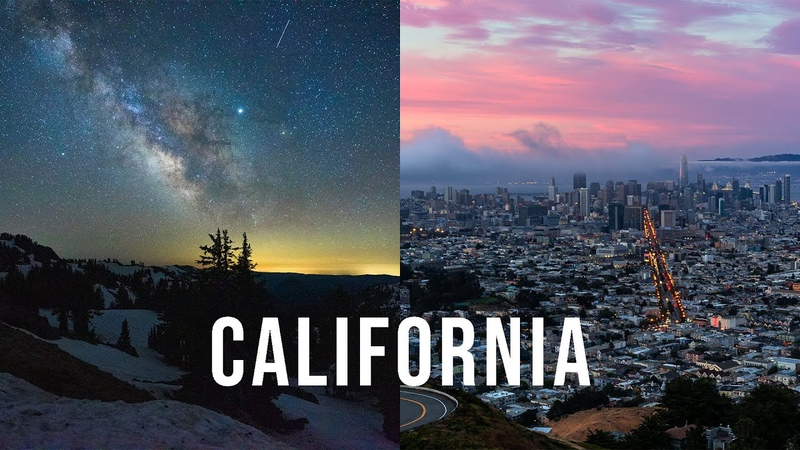 CALIFORNIA A Slow Motion and Time Lapse Adventure