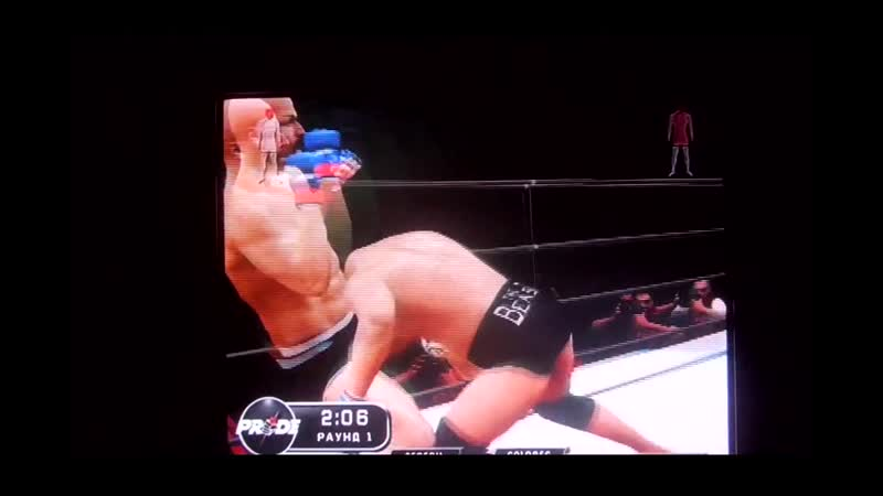 Best fighter Dan the Beast Severn vs best Wrestler Bill Goldberg Лучший боец Дэн Северн зверь против Билла Голдберга 11DeadFace